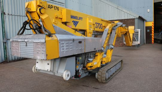 SOLD - Omme 3700 RBDJ Crawler Mounted Boom - Hybrid 2012