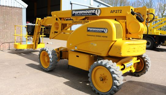 Niftylift HR21 Articulated Boom - 2008