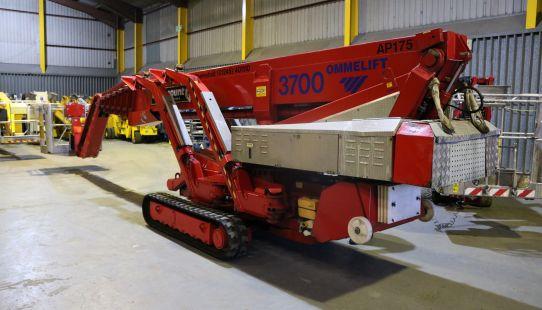 Omme 3700 RBDJ Crawler Mounted Boom - Hybrid 2013